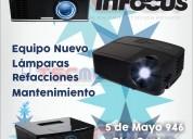 Reparación y venta de proyectores infocus.