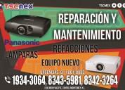 Reparación y mantenimiento a proyectores panasonic