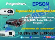 Mantenimiento  a proyectores epson.