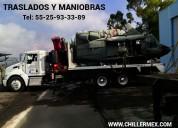 Camión grúa hiab en renta con operador