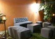 Renta de salas lounge
