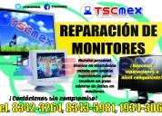 Reparación de monitores.