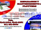 Reparacion y mantenimiento a plotter epson.