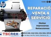 Reparacion y mantenimiento a plotter hp.