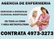 Agencia de enfermeras y cuidadores a domicilio cdm