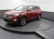Hyundai santa fe 2017 rojo