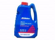 Aceite 20w 50 para autos, marca; ac delco