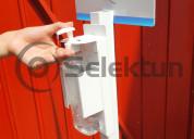 Pedestal para despachador de gel antibacterial