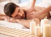 Relajacion a traves de los masajes con el sr jorge