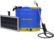 Fumigadora elÉctrica solar