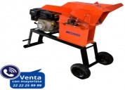 Picadora mpower pf2000 con motor 6.5 hp