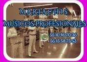 Mariachis en zona esmeralda tel:cel:wh 5510467036