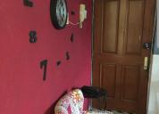 Rento habitaciones individuales en villa coapa