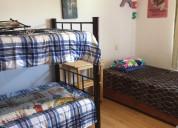 Rento habitación triple en casa dúplex damas sur