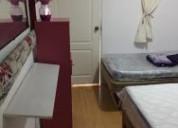 Rento habitaciones amuebladas para damas sur