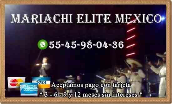 Grupo de mariachis en santa fe | 5545980436 | cdmx