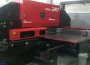 Punzonadora amada pega 357 / 30 ton cnc