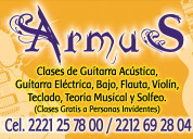 Armus música: clases profesionales de música