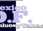 Mexico df avaluos