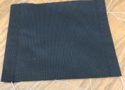 Cubrebocas sencillo una capa color negro