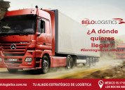 Belologistics ciudad de méxico transporte de carga