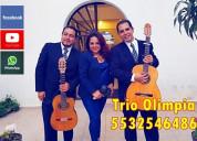 Trio musical en xoco cdmx