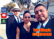 Trio musical en campestre churubusco cdmx