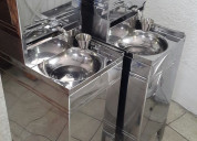 Lavamanos sin tuberia portatil ace inox 3312647143