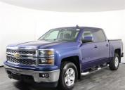 Chevrolet silverado color azul 2015