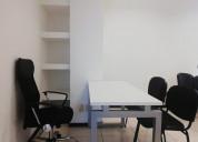 Hermosa oficina amueblada cerca de la piedra lisa