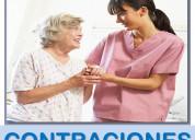 Enfermeras y cuidadores de enfermos