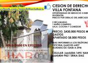 Casa en villa fontana por cesion de derechos 2 rec