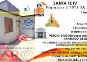 Casa a la venta en santa fe 1 habitacion