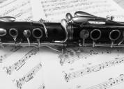 Doy clases de clarinete a domicilio