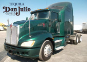En remate tractocamion kentworth t660 modelo 2009