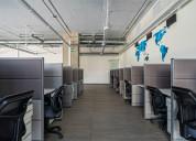 Precioso y amplio espacio ideal para call center.
