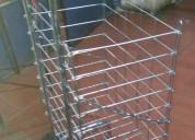 Carrito del mandado plegadizo de metal