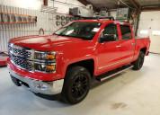 Chevrolet silverado 2015 rojo