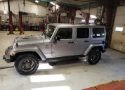 Jeep wrangler unlimited 2014 plata
