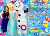 Show de frozen para fiestas infantiles - cdmx/edom