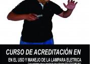 Uso y manejo de la lampara elÉctrica-acreditaciÓn
