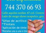 Contrato estilistas masajistas jovenes 7443706693