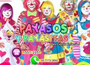 Payasos para fiestas infantiles - ✆ 55 71723692