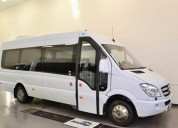 Mercedes benz sprinter 2014 21 asientos