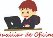 Auxiliar de oficina / recepcionista