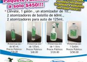 Effersan sanitizante 100% eficaz