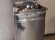 Lavabo de acero inoxidable portatil envios a toda la republica 3310990642