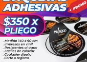 Linx publicidad etiquetasautoadheribles