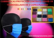 Cubrebocas protector contra el coronavirus