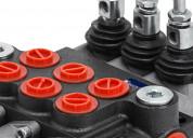 Valvula de control direccional 3 palancas